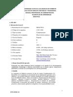 Silabo-Spa Didáctica 2019 II PDF