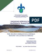 1. RECURSOS HIDRÁULICOS EN LA REPÚBLICA MEXICANA Y EN EL ESTADO DE VERACRUZ.pdf