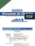 Encuesta IMA Nov. 2010