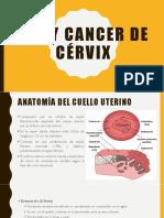 Nic y Cancer de Cérvix