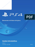 Manuale Istruzioni PS4