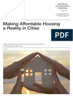 WEF Making Affordable Housing a Reality in Cities Report