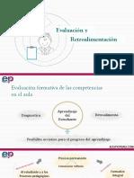 Evaluación y Retroalimentacion