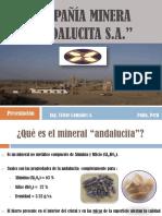 Presentación Compañia Minera Andalucita S.A. mayo 28