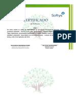 CERTIFICADO 2019