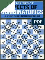 Aspects of Combinatorics - A Wide-ranging (Cambridge)
