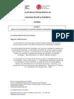 1. Definicion Formal y Sustantiva Economia