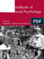 Michael J. Stevens, Danny Wedding-The Handbook of International Psychology-Routledge (2004)