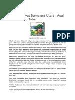 Cerita Rakyat Sumatera Utara.docx