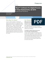 The Forrester Wave™_ Software For Digital Process Automation For Deep Deployments, Q2 2019