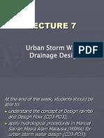 hydrology drainange