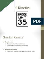 Chem 18 - Chemical Kinetics
