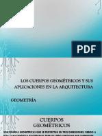 Exposición Cuerpos Geométricos