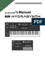 Hydrasynth Operation Manual v1.0