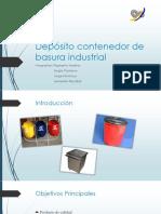 Basurero Industrial