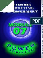 Power Networking Module 07