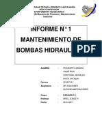Informe de App. Oleohidraulicas