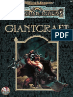 Giantcraft, Advanced Dungeons and Dragons 2nd Edition
