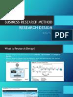 MRB - Research Design