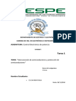 Interconexion y Proteccion de Semiconductores
