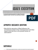 Research Proposal on RZL110