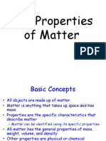 Properties of Matter Presentation