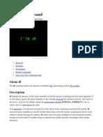 Df Command