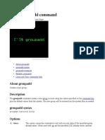 Groupadd Command