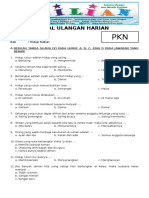 Soal PKN Kelas 2 SD Bab 1 Hidup Rukun Dan Kunci Jawaban (Www.bimbelbrilian.com)