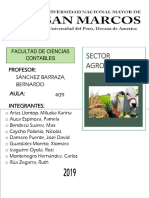 El Sistema Agropecuario Peruano