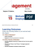 Ch 16-Motivating Employee
