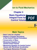 Chapter 4 Fluid Mechanics