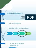 Etapa Intermedia Final.....