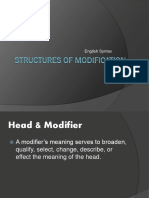 Structures of Modification