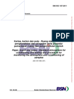 SNI ISO 187-2011 Kertas Karton Pulp