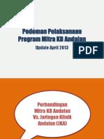 Mitra KB Andalan Mei 2013 - oktober 2013.pptx
