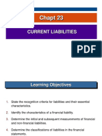 Chapt 23 Current Liabilities