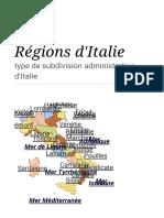 Régions d'Italie — Wikipédia