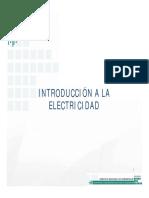 1. Introduccion a La Electricidad