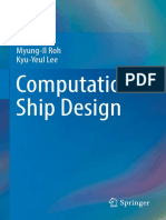 Myung Il Roh Kyu Yeul Lee Computational Ship Design Springer Singapore 2018