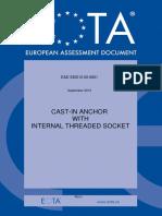Ead-330012-00-0601-Ojeu2016 -Eta Cast in Anchors in Concrete