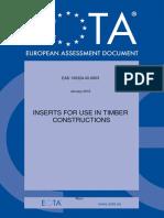Ead 130324 00 0603 Ojeu2018 ETA Inserts for Wood Structyres