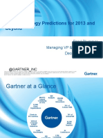 Top Technology Predictions for 2013 and Beyond
