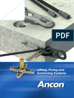 Lifting Fixing and Anchoring Systems for the Precast Concrete Industry 0917