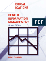 Statistical Applications for Healt