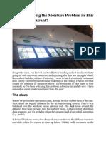 RESTAURANT MOISTURE CONDENSATION ISSUES.docx