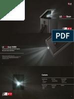 LG CineBeam HU80KG Catalogue Dt. 03.09.2019
