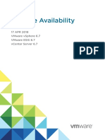 Vsphere Availablity Guide