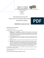 School Based Science Fair 2019 Activity Guidlines and Activity Matrix Revised 1