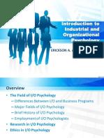 Intro to IO Psychology